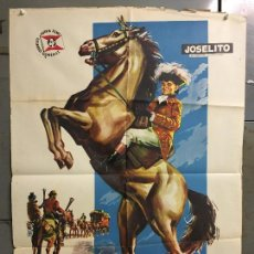 Cine: CDO N287 EL PEQUEÑO CORONEL JOSELITO POSTER ORIGINAL ESTRENO 70X100. Lote 296713643