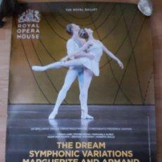 Cine: OPERA: THE DREAM SYMPHONIC VARIATIONS MARGUERITE AND ARMAND- APROX 70X100 CARTEL ORIGINAL CINE (L94). Lote 296743678