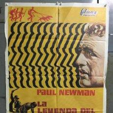 Cine: CDO N290 LA LEYENDA DEL INDOMABLE PAUL NEWMAN POSTER ORIGINAL 70X100 ESTRENO. Lote 296784388