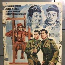 Cine: CDO N294 UN PASO AL FRENTE GERMAN COBOS TOMAS BLANCO JANO POSTER ORIGINAL 70X100 ESTRENO. Lote 296796298