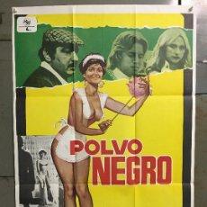 Cine: CDO N299 POLVO NEGRO ORCHIDEA DE SANTIS RENZO MONTAGNANI POSTER ORIGINAL 70X100 ESTRENO. Lote 296801238