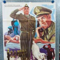 Cine: EL CORONEL BUTTIGLIONE. JACQUES DUFILHO, ALDO MACCIONE. AÑO 1976. POSTER ORIGINAL. Lote 296843238