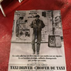 Cine: TAXI DRIVER. Lote 296843608