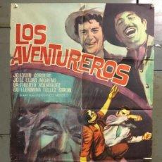 Cine: CDO N319 LOS AVENTUREROS JOAQUIN CORDERO POSTER ORIGINAL 70X100 ESTRENO. Lote 296847008