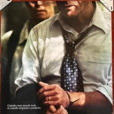Cine: CARTEL DE CINE ORIGINAL. PELÍCULA, LA SOMBRA DE UN SECUESTRO. MEDIDAS: 70X100 CM.. Lote 296851168