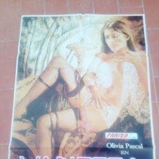 Cine: CARTEL DE CINE 70X 100 APROX MOVIE POSTER VER FOTO VANESSA OLIVIA PASCAL HUBERT FRANK. Lote 297026458