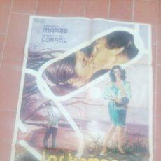 Cine: CARTEL DE CINE 70X 100 APROX MOVIE POSTER VER FOTO LAS TRAMPAS DEL MATRIMONIO JUAN JOSE PORTO. Lote 297031483