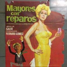 Cine: CDO N353 MAYORES CON REPAROS ANALIA GADE FERNAN GOMEZ JANO POSTER ORIGINAL 70X100 ESTRENO. Lote 297052763