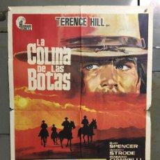 Cine: CDO N369 LA COLINA DE LAS BOTAS BUD SPENCER TERENCE HILL POSTER ORIGINAL 70X100 ESTRENO. Lote 297063773