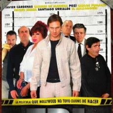 Cine: CARTEL DE CINE ORIGINAL. PELÍCULA. FBI, FRIKIS BUSCAN INCORDIAR. MEDIDAS: 69X99 CM. Lote 297074448