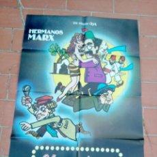 Cine: CARTEL DE CINE 70X 100 APROX MOVIE POSTER VER FOTO UNA NOCHE EN CASABLANCA HERMANOS MARX. Lote 297156933