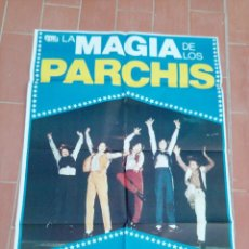 Cine: MOVIE POSTER CARTEL DE CINE ORIGINAL DE EPOCA 70X100 APROX VER FOTO LA MAGIA DE LOS PARCHIS. Lote 297163518