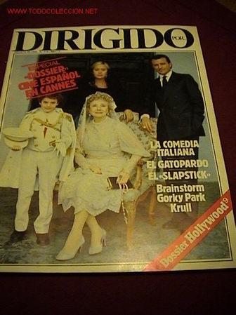 REVISTA DIRIGIDO POR.. Nº: 114 (Cine - Revistas - Dirigido por)