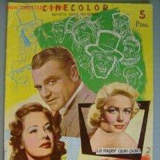 Cine: EL HOMBRE DE LAS MIL CARAS JAMES CAGNEY, DOROTHY MALON. Lote 14598862
