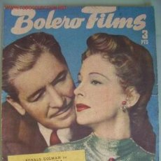 Cine: BOLERO FILMS. Lote 10311325