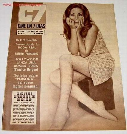 ANTIGUA REVISTA - CINE EN 7 DIAS Nº 312 - 1 ABRIL 1967 - (Cine - Revistas - Cine en 7 dias)