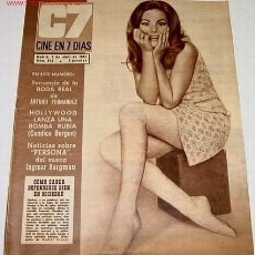 Cine: ANTIGUA REVISTA - CINE EN 7 DIAS Nº 312 - 1 ABRIL 1967 - . Lote 820228
