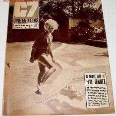 Cine: ANTIGUA REVISTA - CINE EN 7 DIAS Nº 316 - 29 ABRIL 1967 - . Lote 820240