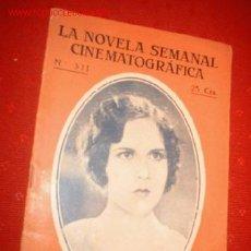 Cine: LA NOVELA SEMANAL CINEMATOGRAFICA Nº 311 PAPA DICE QUE NO. Lote 863781