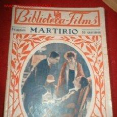 Cine: BIBLIOTECA-FILMS MARTIRIO, POR: SUZY VERNON. Lote 864082
