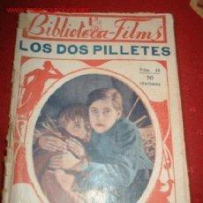 Cine: BIBLIOTECA-FILMS Nº 49 LOS DOS PILLETES, POR: JEAN FO.RES, LESLIE SHAW. Lote 864113