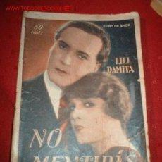 Cine: FILMS DE AMOR NO MENTIRAS, POR: LILI DAMITA. Lote 864126