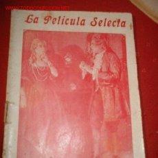 Cine: LA PELICULA SELECTA EL MEDICO DE PALACIO, POR: ENNY PORTEN Y HARRY LIEDKE. Lote 864146