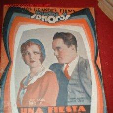 Cine: LOS GRANDES FILMS MUDOS Y SONOROS UNA FIESTA EXCEPCIONAL. Lote 864160