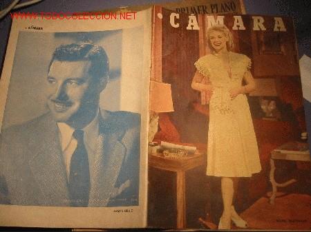 REVISTA CINEMATOGRAFICA CAMARA AÑO 1948 (Cine - Revistas - Cámara)