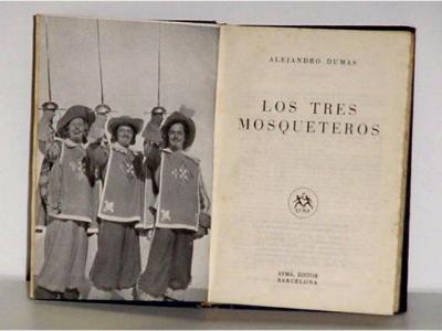 LOS TRES MOSQUETEROS.1949 - CON FOTOS (Cine - Revistas - Otros)