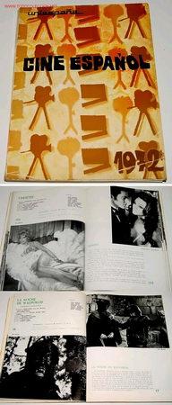 CINE ESPAÑOL 1972, FICHAS TENICO ARTISTICAS Y SINOPSIS DE LOS LARGO METRAJES ESPAÑOLES (Cine - Revistas - Otros)