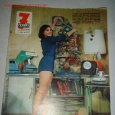 Cine: REVISTA 7 FECHAS-SUPLEMENTO DE NAVIDAD. DICIEMBRE 1969.CONTRAPORTADA CON PUBLICIDAD DE CEAC.. Lote 620604