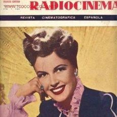 Cine: RADIOCINEMA Nº166. Lote 26594823