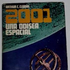 Cine: 2001 UNA ODISEA ESPACIAL ANTIGUO LIBRO. Lote 13848296