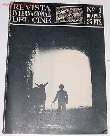 ANTIGUA COLECCION COMPLETA DE LA REVISTA INTERNACIONAL DEL CINE DEL Nº 1 AL 38 - 1952-1961 (Cine - Revistas - Otros)
