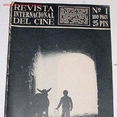 Cine: ANTIGUA COLECCION COMPLETA DE LA REVISTA INTERNACIONAL DEL CINE DEL Nº 1 AL 38 - 1952-1961. Lote 26742320