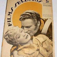 Cine: ANTIGUA REVISTA DE CINE FILMS SELECTOS Nº 272 - ENERO 1936. Lote 1008420
