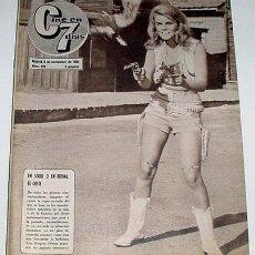 Cine: ANTIGUA REVISTA CINE EN 7 DIAS Nº 239 - 6 NOVIEMBRE 1965. Lote 957365