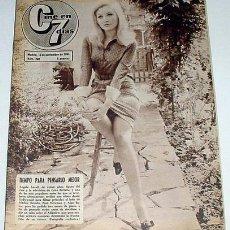 Cine: ANTIGUA REVISTA CINE EN 7 DIAS Nº 240 - 13 NOVIEMBRE 1965. Lote 955648