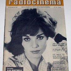 Cine: ANTIGUA REVISTA RADIOCINEMA Nº 521 - 15 MARZO 1962. Lote 942028