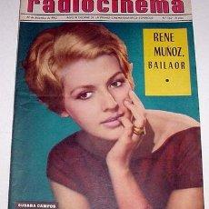 Cine: ANTIGUA REVISTA RADIOCINEMA Nº 562 - 27 DICIEMBRE 1962. Lote 867085