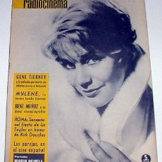 Cine: ANTIGUA REVISTA RADIOCINEMA Nº 501 - OCTUBRE 1961. Lote 867082