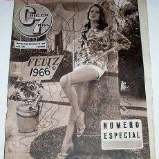Cine: ANTIGUA REVISTA CINE EN 7 DIAS Nº 246 ESPECIAL - 25 DIC. 1965. Lote 861299