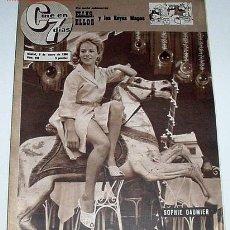 Cine: ANTIGUA REVISTA CINE EN 7 DIAS Nº 248 - 8 ENERO 1966. Lote 955647