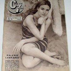 Cine: ANTIGUA REVISTA CINE EN 7 DIAS Nº 254 - 19 FEBRERO 1966. Lote 955645