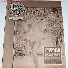 Cine: ANTIGUA REVISTA CINE EN 7 DIAS Nº 241 - 20 NOVIEMBRE 1965. Lote 955642