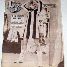 Cine: ANTIGUA REVISTA CINE EN 7 DIAS Nº 245 - 18 DICIEMBRE 1965. Lote 952852