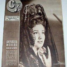 Cine: ANTIGUA REVISTA CINE EN 7 DIAS Nº 261 - 9 ABRIL 1966. Lote 957377