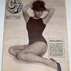Cine: ANTIGUA REVISTA CINE EN 7 DIAS Nº 262 - 16 ABRIL 1966. Lote 957376