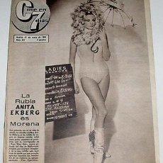 Cine: ANTIGUA REVISTA CINE EN 7 DIAS Nº 267 - 21 MAYO 1966. Lote 852506